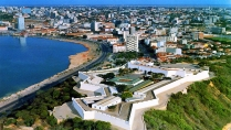 Luanda with the restored fort in the foreground